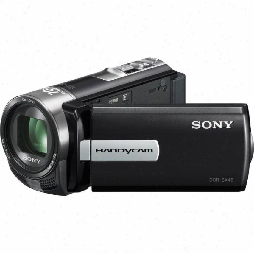 Sony Open Box Dcr-sx45e Cmopact Handycam® Camcorder - Pal System