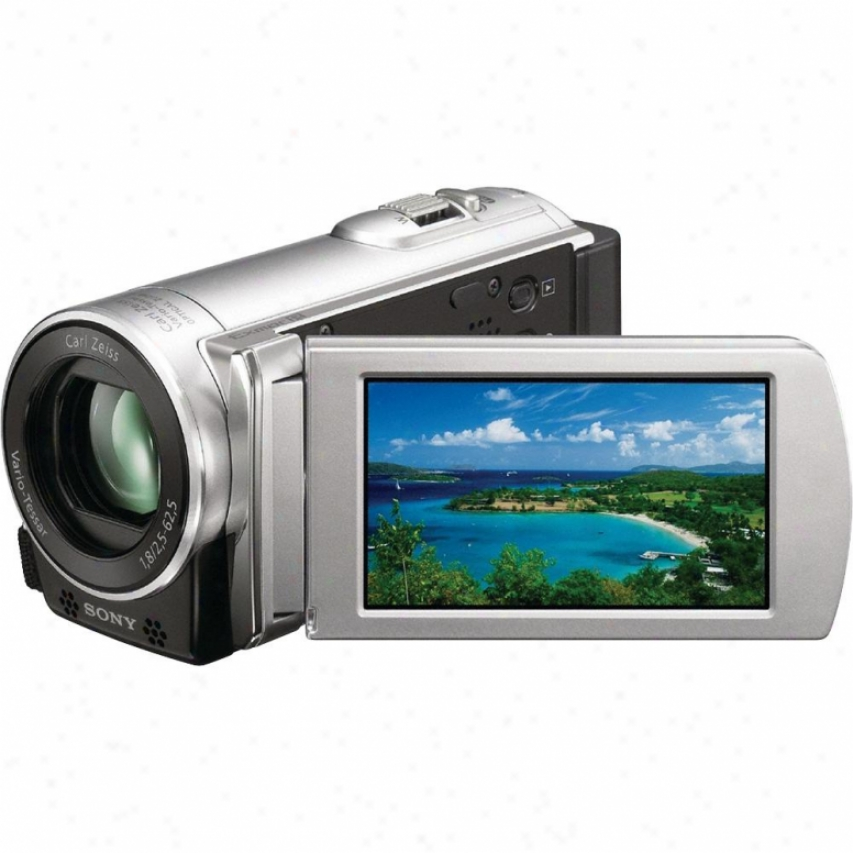 Sony Open Box Dcr-sx83e/s Pal Flash Memory Camcorder