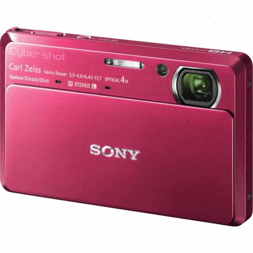 Sony Open Driver's seat Dsc-tx7 Cyber-shot® 10.2 Megapixel Digital Camera - Red