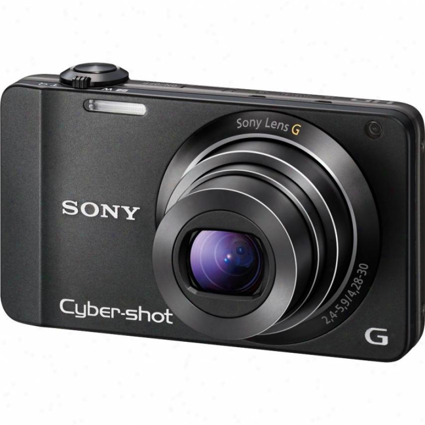 Sony Open Box Dsc-wx10 Cyber-shot® 16 Megapixel Digital Camera - Black