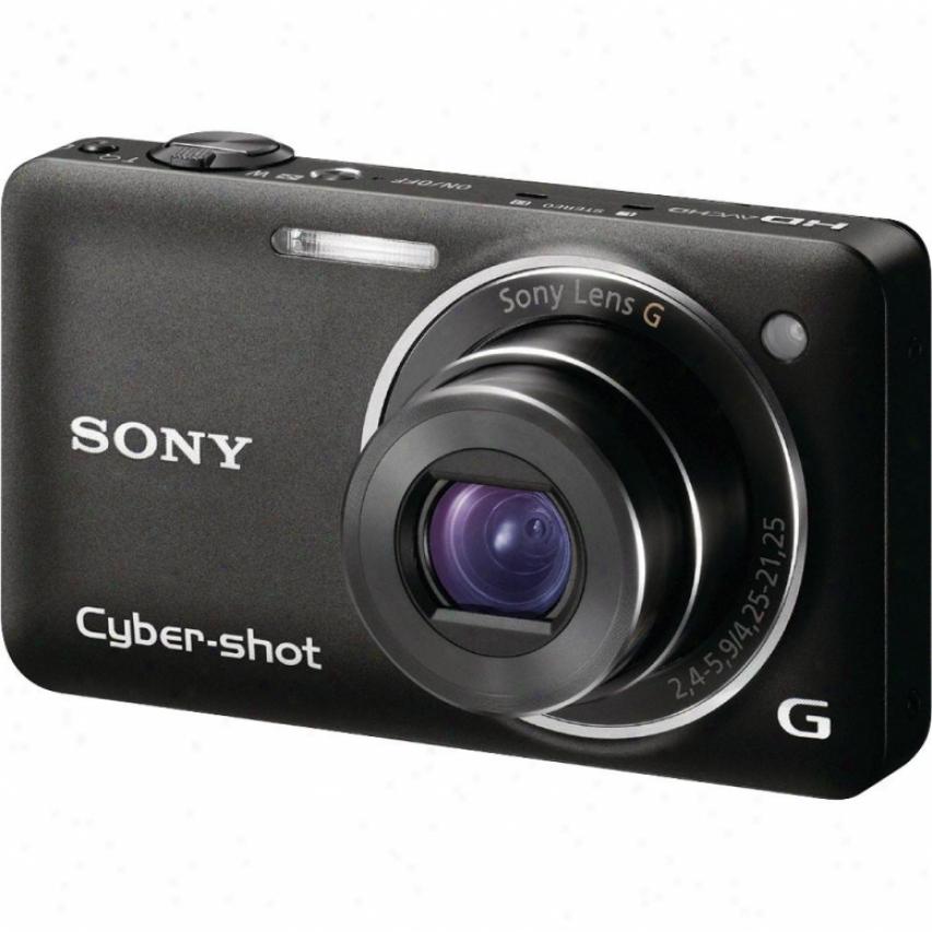 Sony Open Box Dsc-wx5 12.2mp Digital Camera - Black