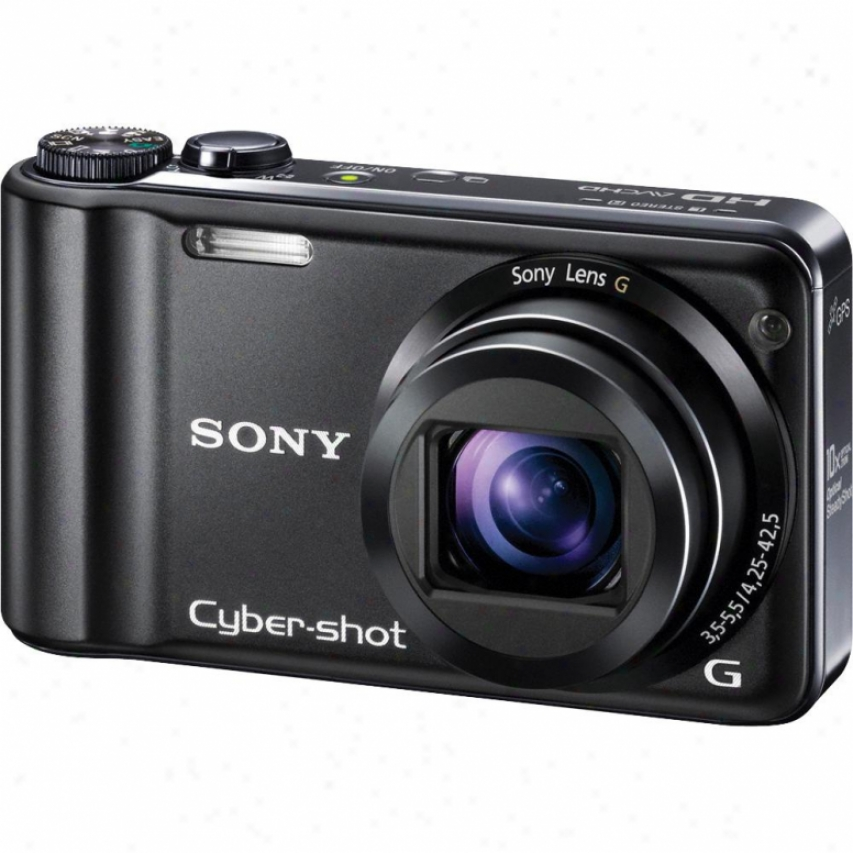 Sony Open Box Dschx5vb Cyber-shot® 10.2 Megapixel Digital Camera - Black