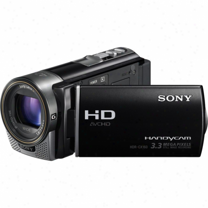Sony Open Box Hdr-cx160e 16gb Fukl Hd Camcorder - Pal System