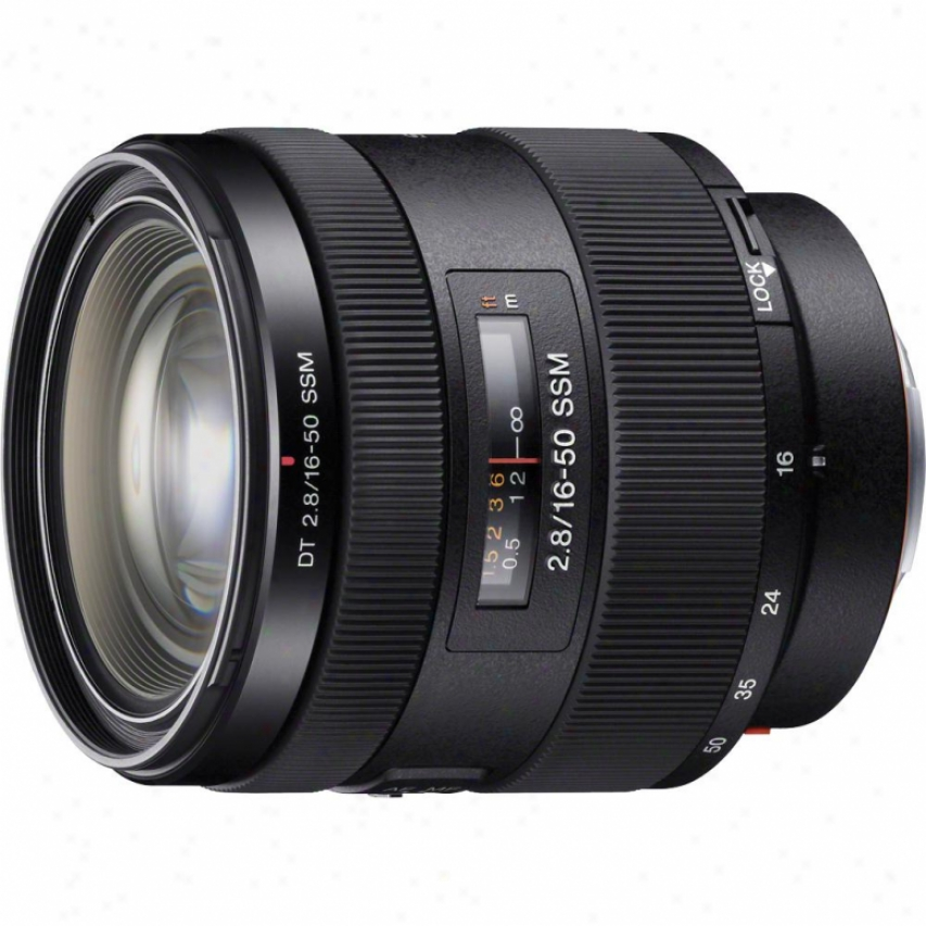 Sony Sal1650 16-50mm F/2.8 Wide-angle Zoom Lens