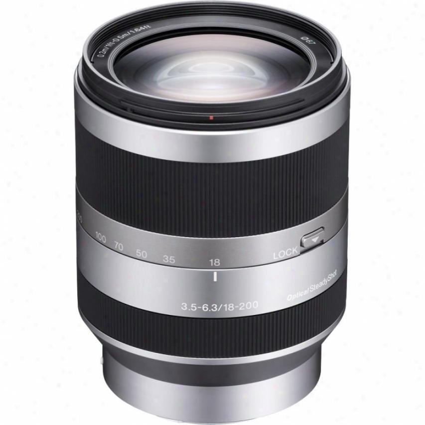 Sony Sel18200 18-200mm F/3.5-6.3 Telephoto Lens