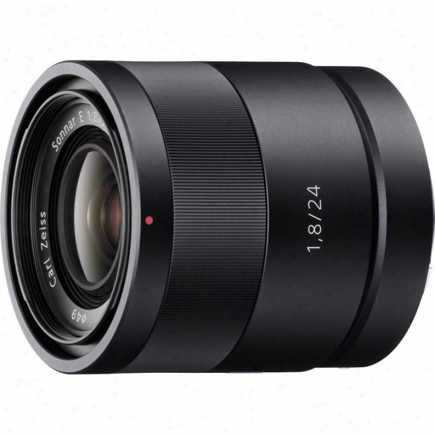Sony Sel24f18z 24mm F/1.8 Cal Zeiss Sonnar Wide-angle Lens