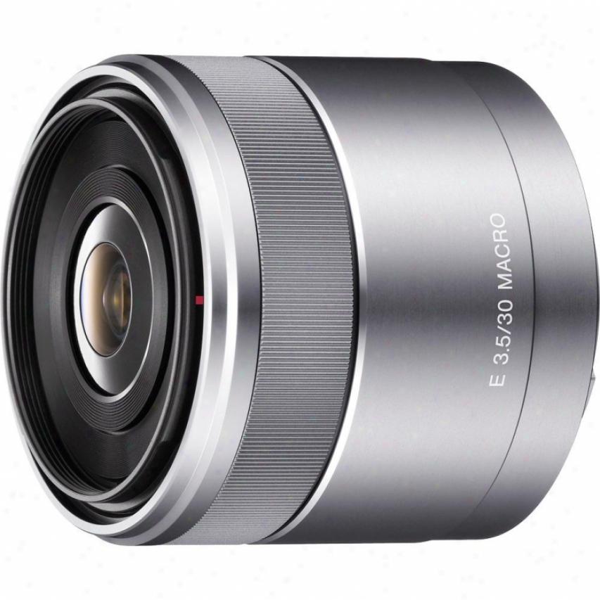 Sony Sel30m35 30mm F/3.5 Macro Lens For Alpha Nex Cameras