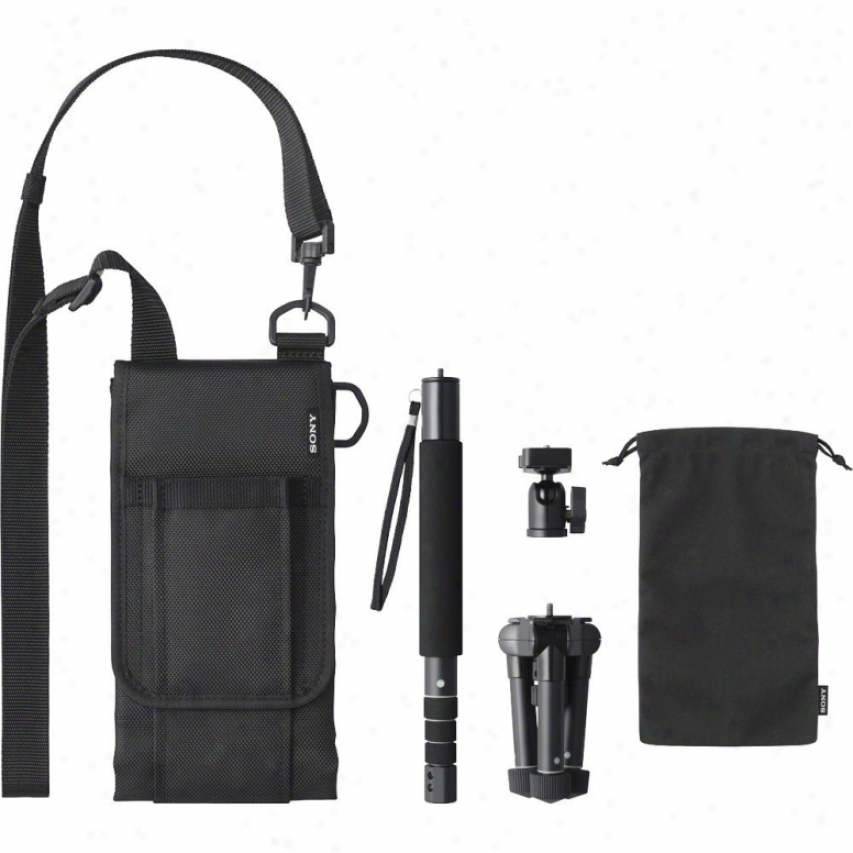 Sony Vct-mp1 Multipod Monopod For Sony Handycam® Or Slt/dslr/nex Cameras