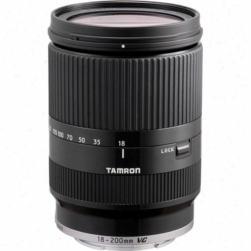 Tamron 18-200mm Di Iii Vc Zoom Lens For Sony Nex Series - Black