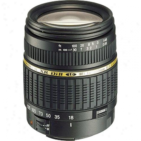 Tamron 18-200mm F/3.55-6.3 Xr Di-ii Ld Af Aspherical (if) Macro Lens For Canon