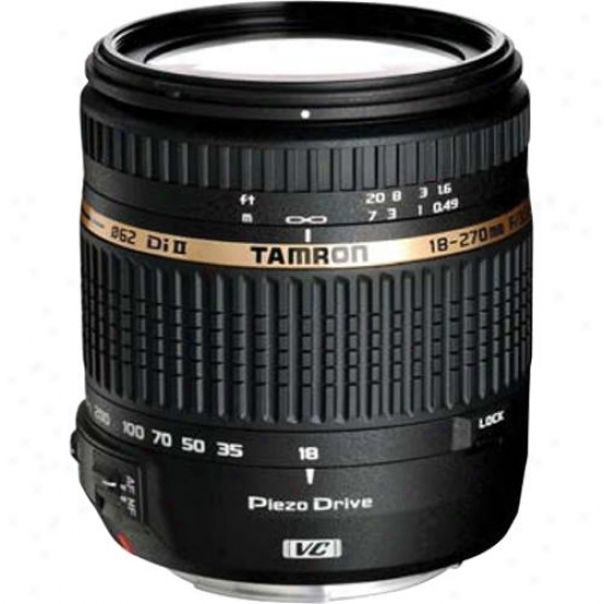 Tamron 18-2270mm F/3.5-6.3 Di Ii Vc Pzd Zoom Lens For Nikon