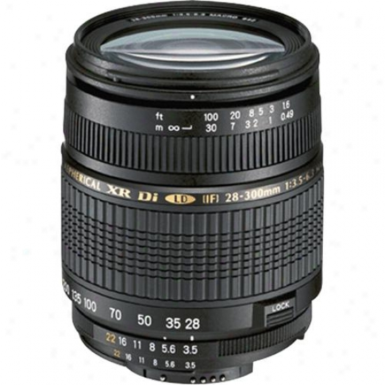 Tamron 28-300mm F/3.5-6.3 Xr Af Di Vc Lens With Built-in Motor Because Nikon