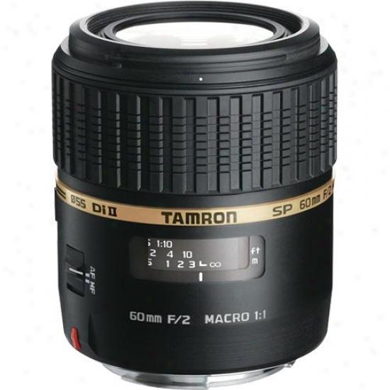 Tamron 60mm F/2.0 Di Ii Ld (if) Af Sp 1:1 Macro Lens - Nikon
