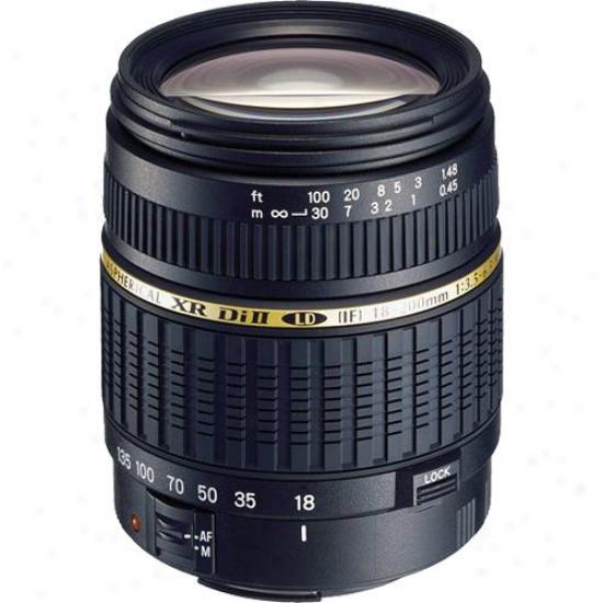 Tamron Af18-200mm F/3.5-6.3 Xr Di-ii Ld Aspherical (if )Macro In favor of Nikon