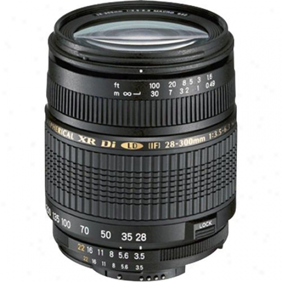 Tamron F/3.5-6.3 Xr Di Vc Lens Upon Bulit-in Motor For Canon Af28-300mm