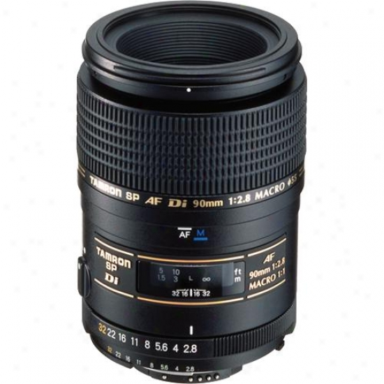 Tamron Sp Af90mm F/2.8 Di 1:1 Macro Ii Lens - Nikon