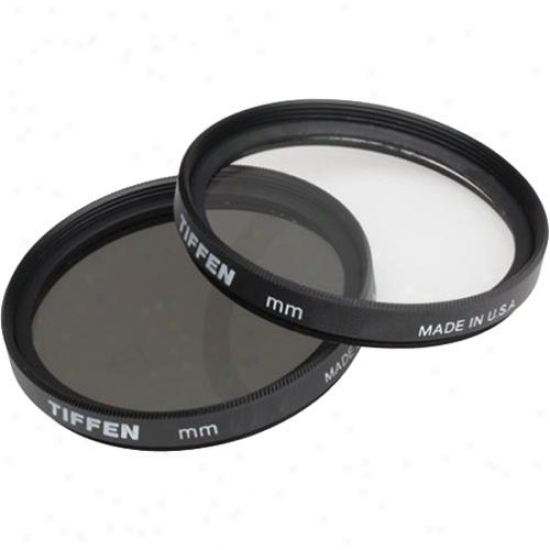 Tiffen 46mm Photo Twin Pack Filters 46ptp