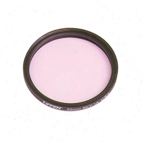 Tiffen 55mm 1a Skylight Filter For Camera Lens