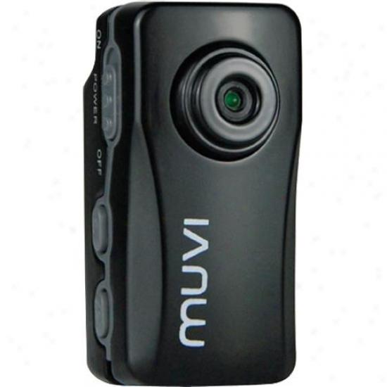 Veho Vcc-004-atom-blk Muvi Atom Micr oDigital Camcorder - Black