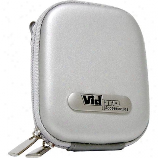 Vidpro Hard Digital Camera Case Eva-20 Silver