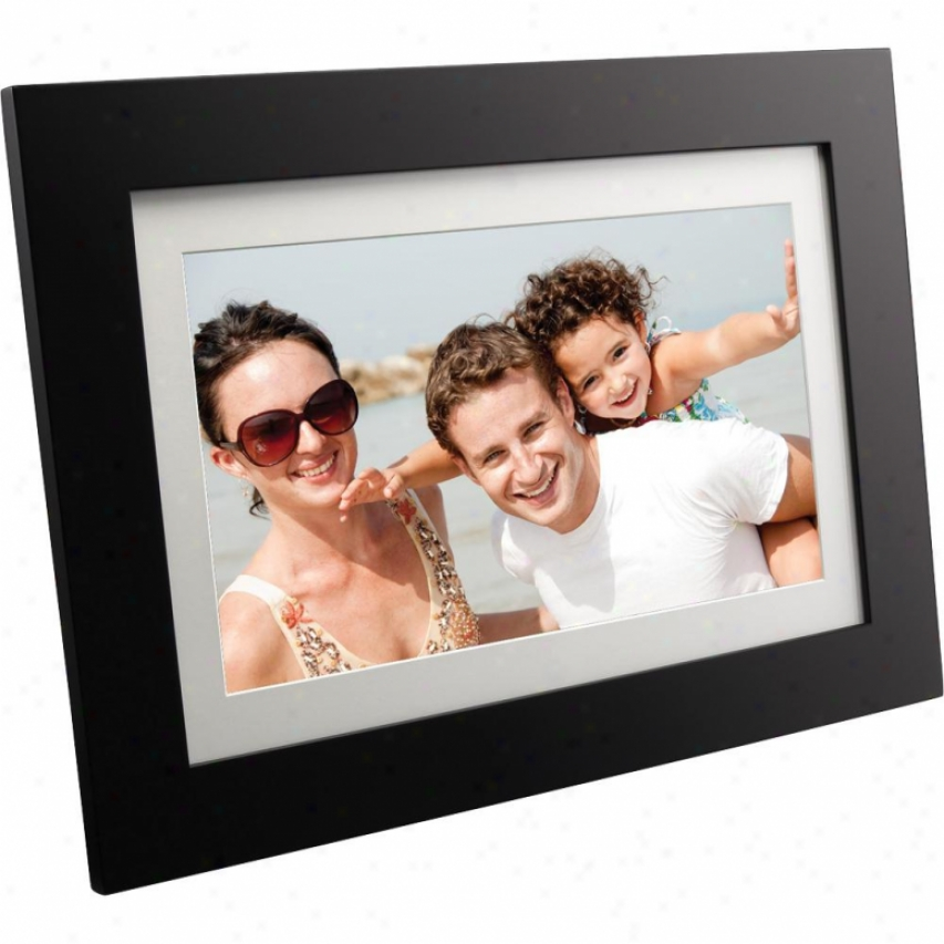 "Viewsonic 10 .2"" Digital Photo Frame - Ebony - Vfd1027w-11"