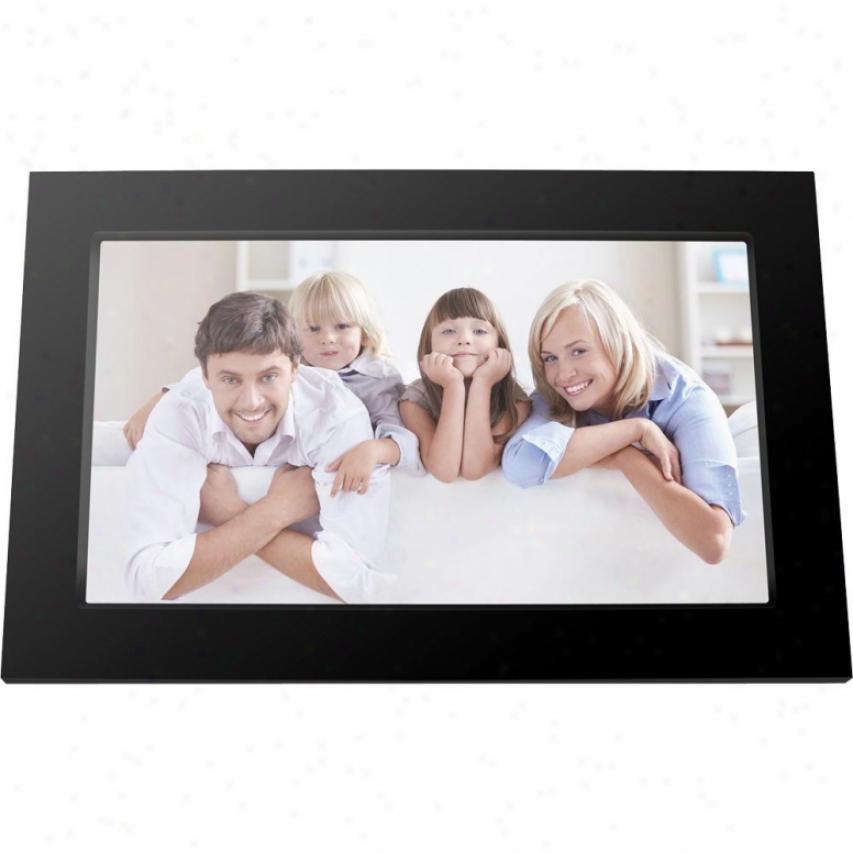 "Viewsonic 7"" Led Back Light Digital Photo Frame - Black - Vfa720w-50"