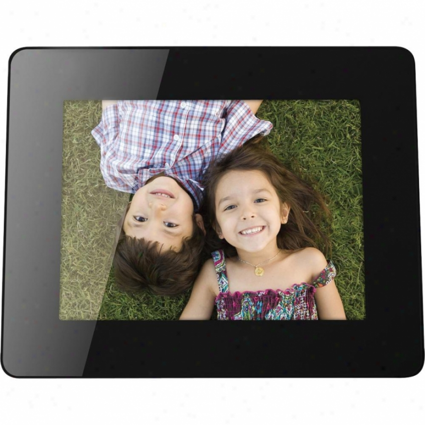 "Viewsonic 8"" Digital Photo Frame - Black - Vfm836-54"