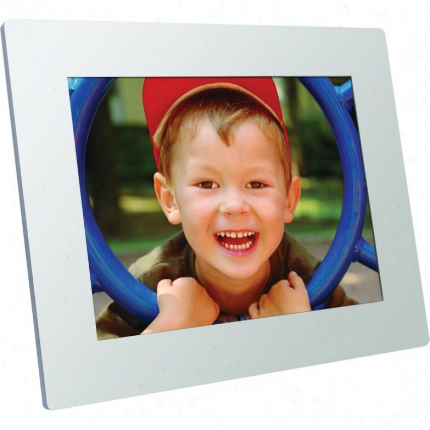 "Viewsonic 8"" Led Back Light Digital Photo Frame - White - Vfd826-70"