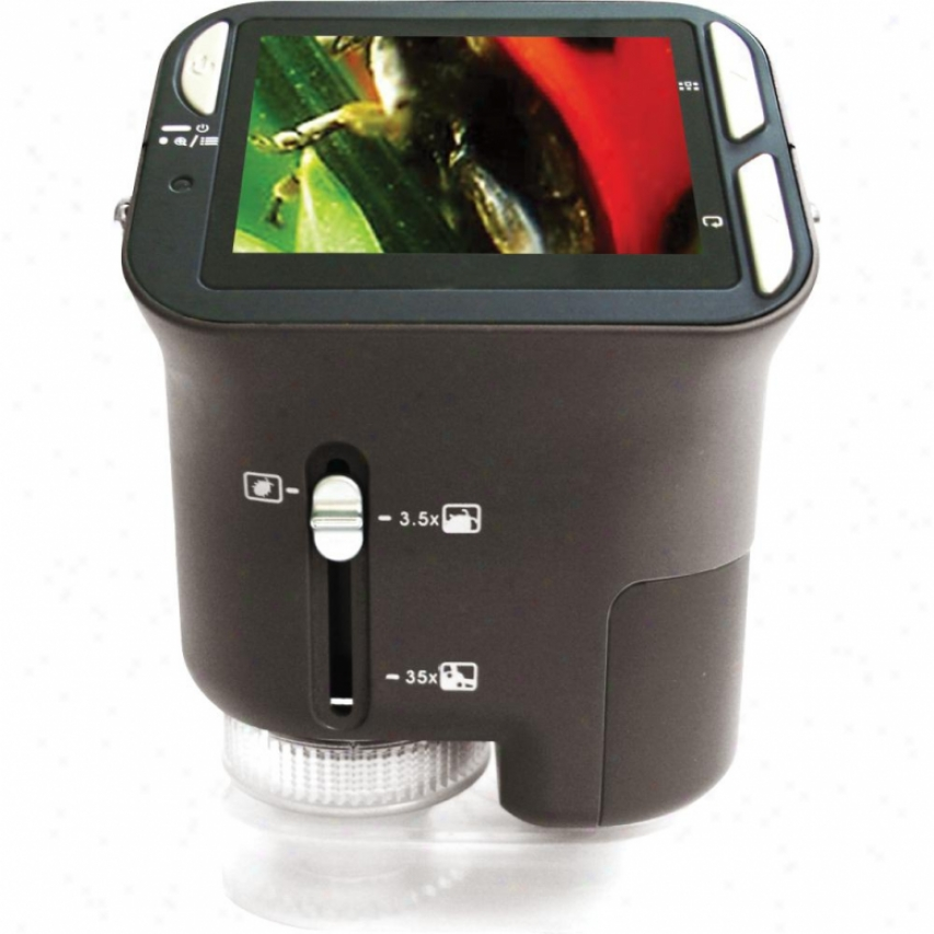 Vistaquest 2.4-inch Portable Digital Microscope - Dms-130