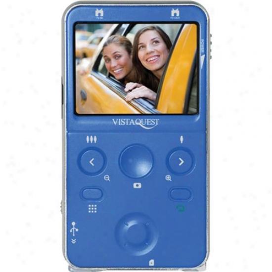 Vistaquest Digital Video Camcorder--blue