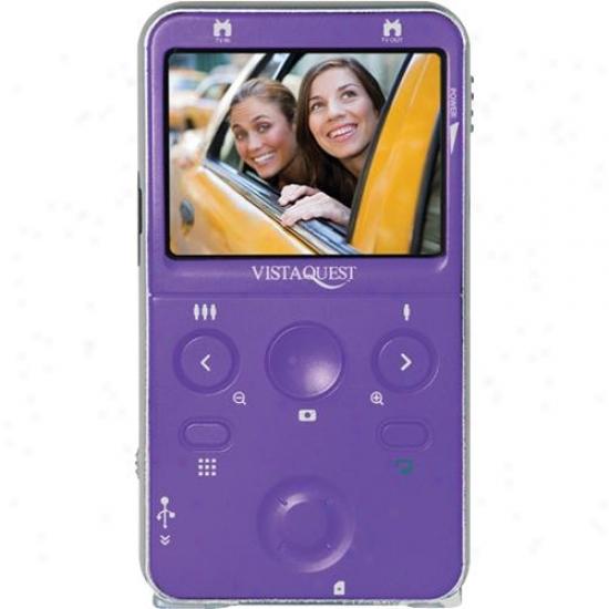 Vistaquest Digital Video Camcorder--purpl