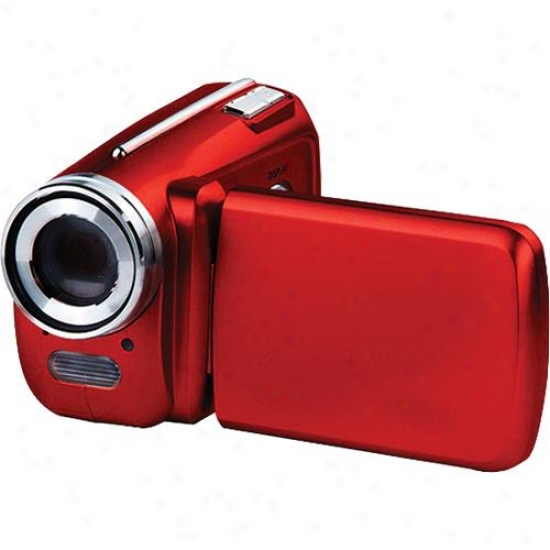 Vistaquest Dv-500 Digital Sd Camcorrer - Red