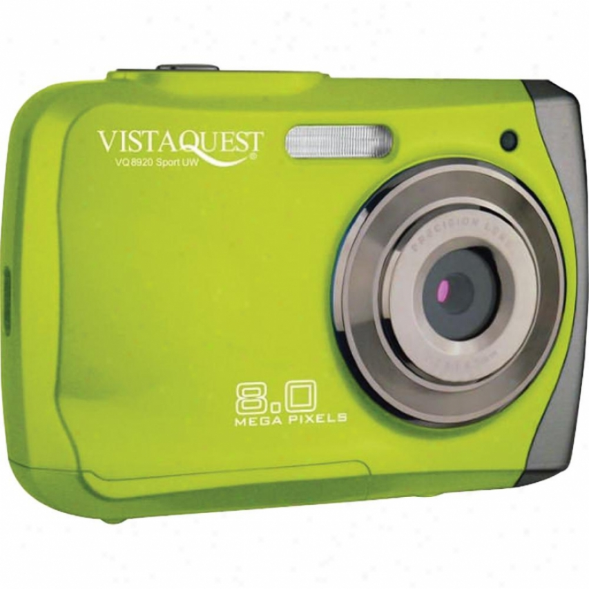 Vistaquest Vq-8920 Spor tGreen 8mp Uw
