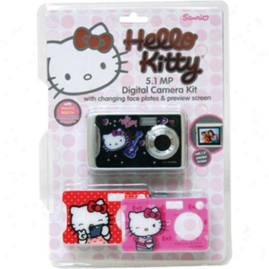 Vivitar Hello Kitty 5-megapixel Digital Camera - 87009