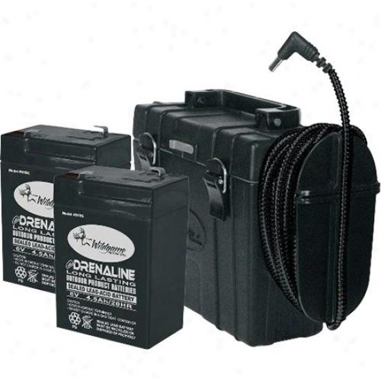 Wildgame Innovations Innovations External 6v Battery Pack Ebx