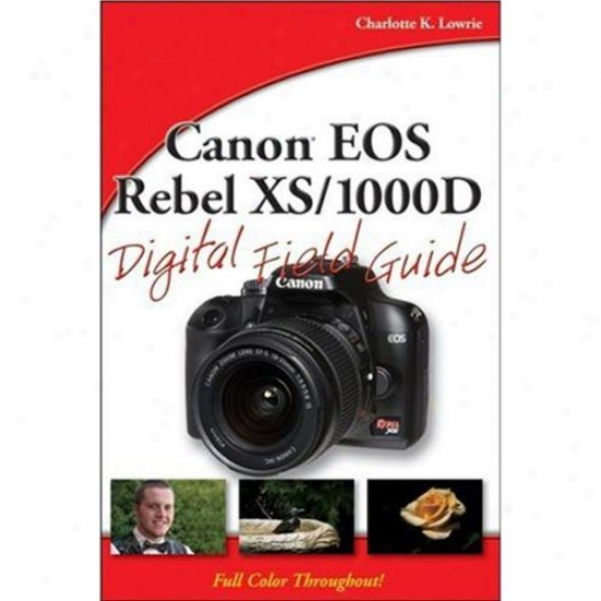 Wiley 0470409509 Canon Eos Rebe Xs/1000dd Digital Field Guide-book
