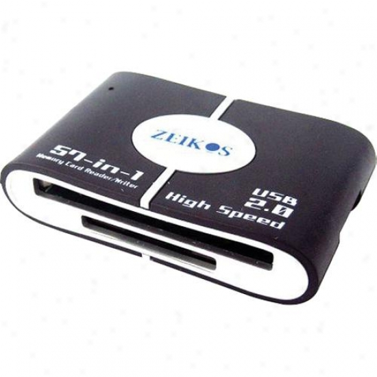 Zeikos Zecr201 All In One Oppressive Hasten Card Reader