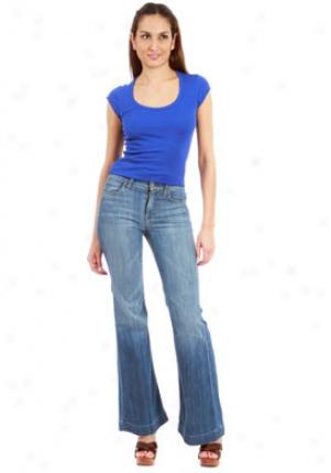 7 For All Mankind Smr Ginger Wide Leg Jeans Je-9402724