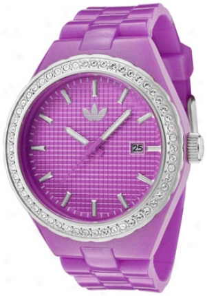 Adidas Wpmen's Midsize Cambridge White Crystal Purple Polycarbonate Adh2104