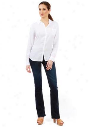 American Vintage White Twill Shirt Wtp-00181013-m