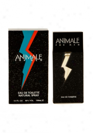 Animale Eau De Toilette Fool Spray 3.4 Oz Animale-men-3.4