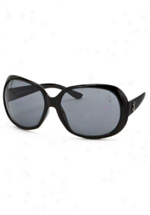 Baby Phat Fashion Sunglasses 2037-blk-60-17-128