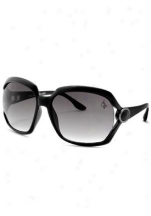 Baby Phat Fashion Sunglasses 2066-blk-61-16-116