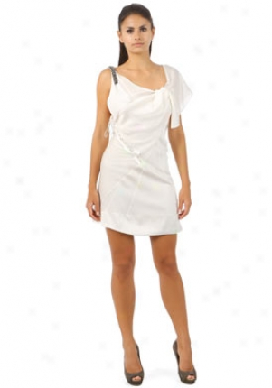 Barbara Bui Off White hSort Dress Dr-s7309scl-ecr-40