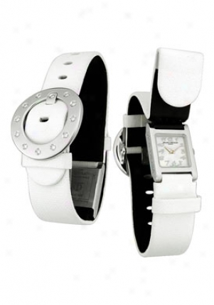 Baume & Mercier Women's Vice Versa Collection Stainless Steel Moa08587