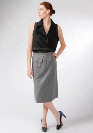 Placard Blass Black Cashmere Vest Wtp-153-5bkack-8