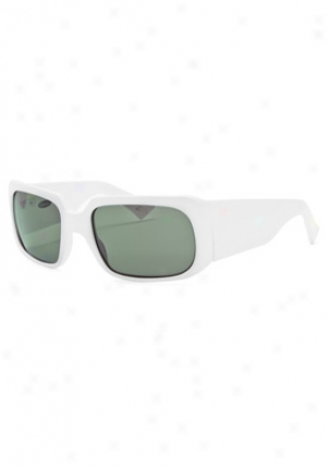 Blinde My Oscar Wraparound Sunglasses Myoscar/55/whit/grn