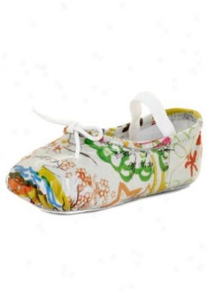 Bloch Multicolor Baby Patent Print Leather Flats 218004-multi-6