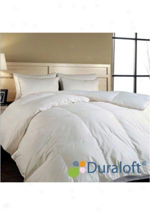Blue Ridge Home Fashions Da/c-4 White 400 Tc Egyptian Cotton Duraloftâ® Premium Da Comforter 115002