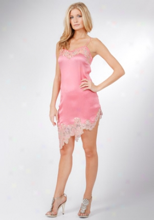 Blumarine Pink Silk Dress Dr-53796-pink-44